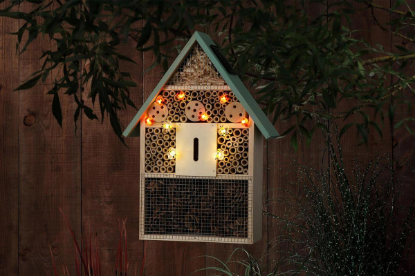Solar LED Insect Hotel