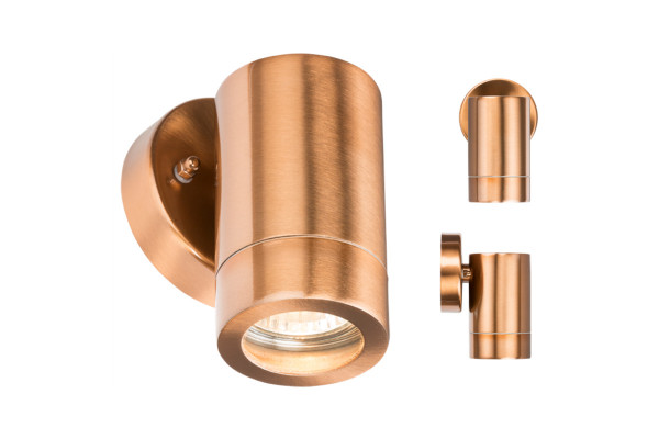 Lightweight Copper Plated Fixed Downlight