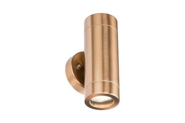 Lightweight Copper Plated Fixed Up/Down Light