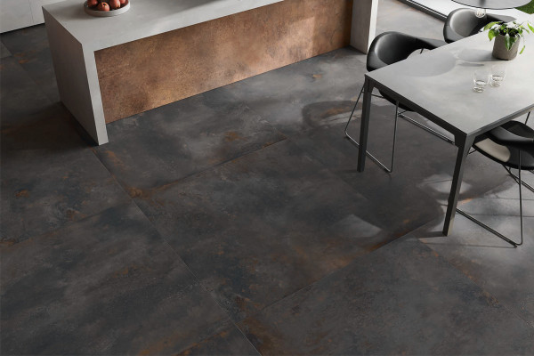 Image displaying Magnet & Copper porcelain tiles