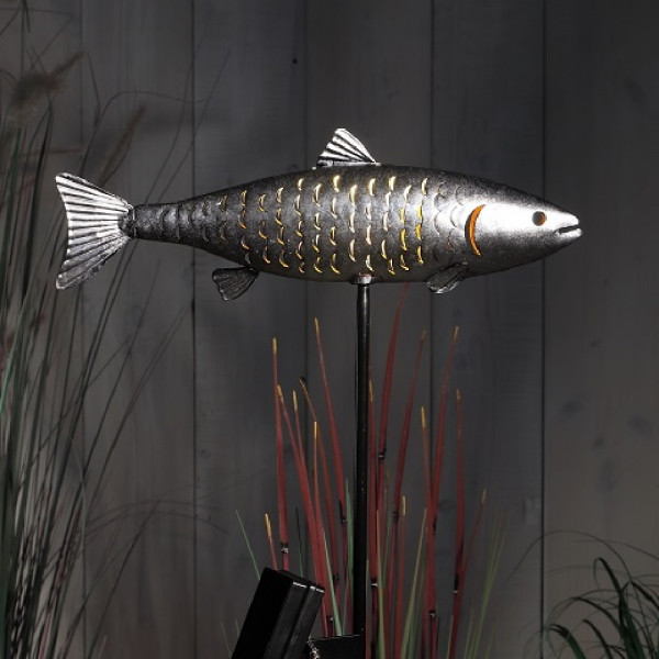 Solar LED Single Trout Stake Light