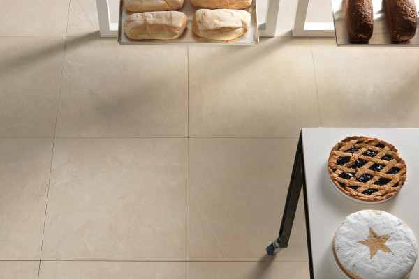 Slab Khaki Porcelain Tiles