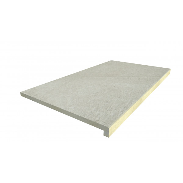 Image Displaying 900x500 Ash Beige Step with a 40mm Downstand Edge
