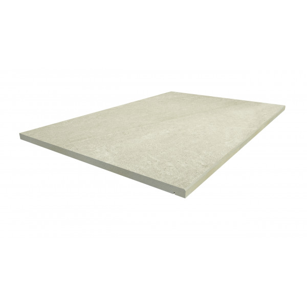 Image Displaying 900x600 Ash Beige Step with a 5mm Chamfer Edge
