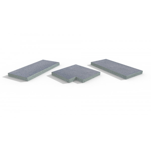 Image Displaying Blue Grey Coping Collection