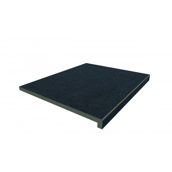 Image Displaying 900x500 Charcoal Step with a 40mm Downstand Edge