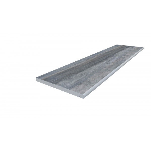 Image Displaying 1200x300 Cinder Step with a 20mm Bullnose Edge