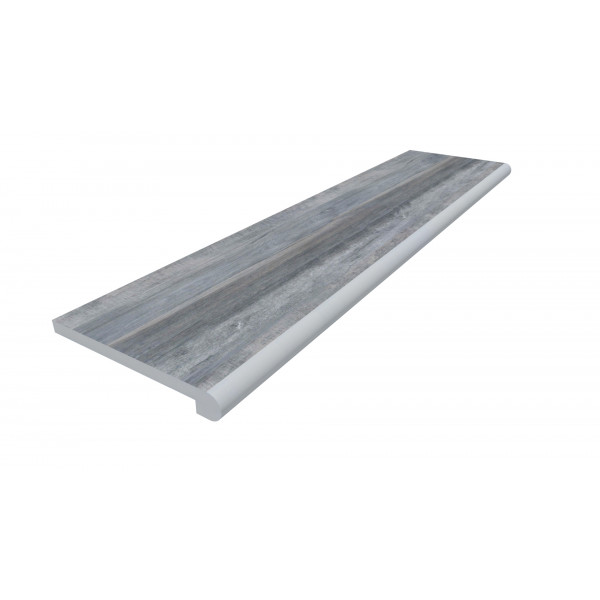 Image Displaying 1200x300 Cinder Step with a 40mm Bullnose Edge
