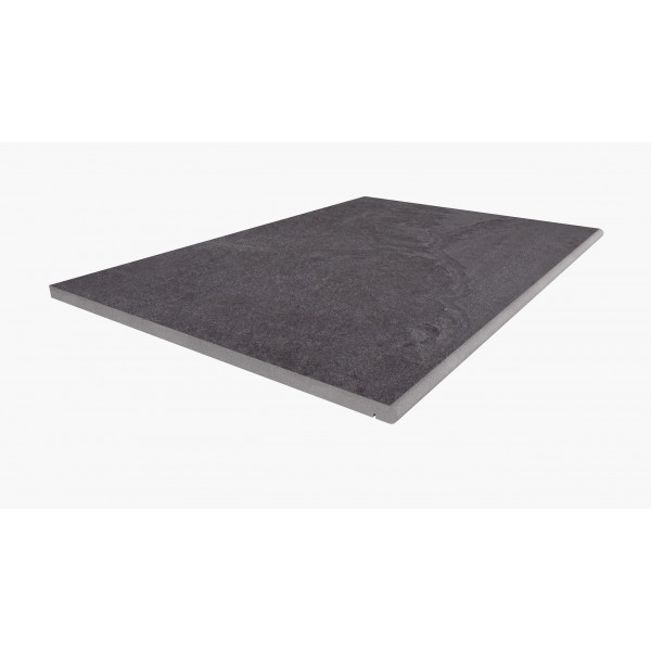 Image displaying 900x600 Florence Dark Step with a 20mm Bullnose Edge