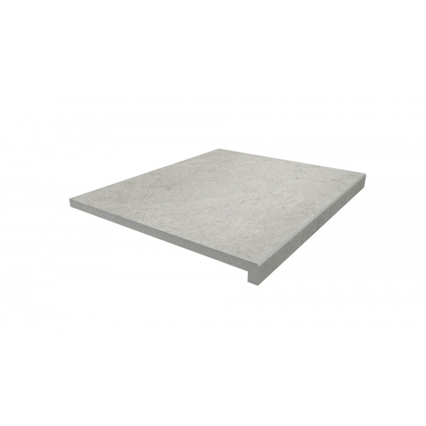 Image Displaying 600x500 Florence Grey Step with a 40mm Downstand Edge