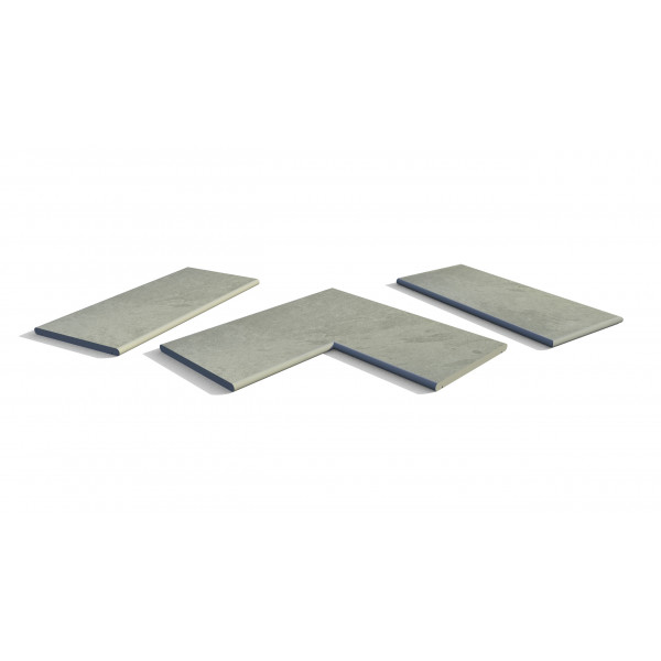 Image Displaying Florence Storm 20mm Bullnose Coping Collection