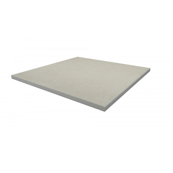 Image Displaying 600x600 Florence White Step with a 5mm Pencil Round Edge