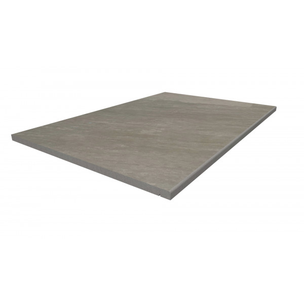 Image Displaying 900x600 Kandla Grey Step with a 5mm Pencil Round Edge