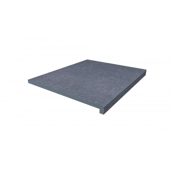 Image Displaying 600x500 Pierre Blue Step with a 40mm Downstand Edge