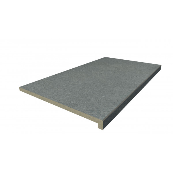 Image Displaying 900x500 Platinum Grey Step with a 40mm Downstand Edge
