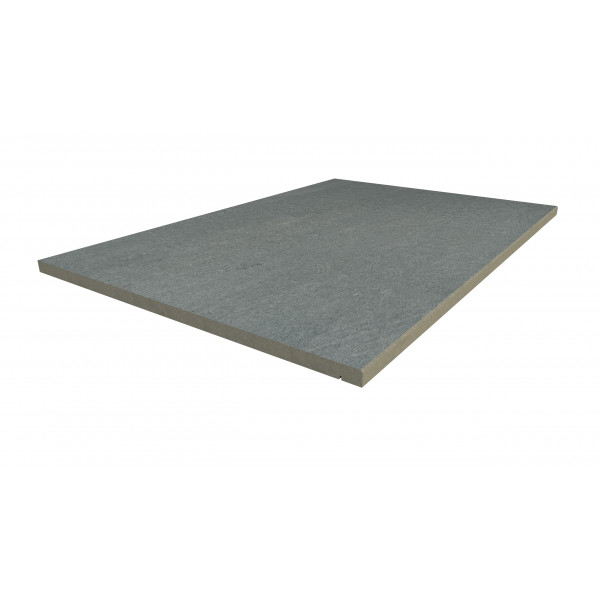 Image Displaying 900x600 Platinum Grey Step with a 5mm Chamfer Edge