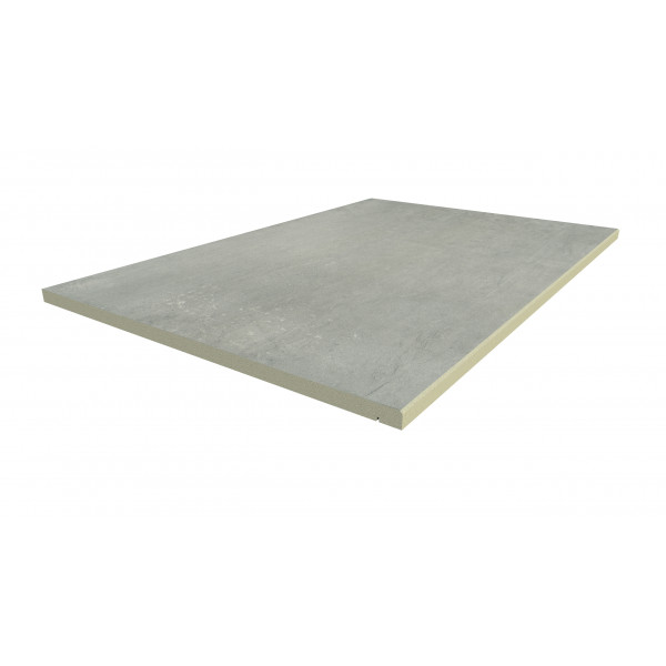 Image Displaying 900x600 Polished Concrete Step with a 5mm Chamfer Edge
