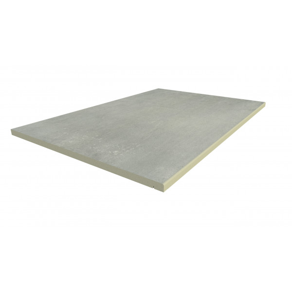 Image Displaying 900x600 Polished Concrete Step with a 5mm Pencil Round Edge