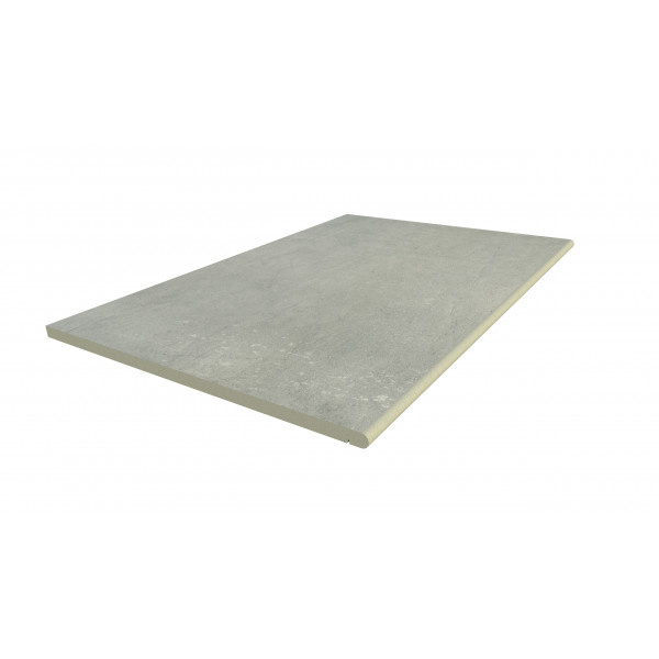 Image Displaying 900x600 Polished Concrete Step with a 20mm Bullnose Edge