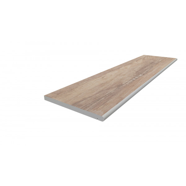 Image Displaying 1200x300 Rovere Step with a 20mm Bullnose Edge