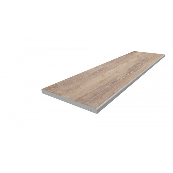 Image Displaying 1200x300 Rovere Step with a 5mm Pencil Round Edge