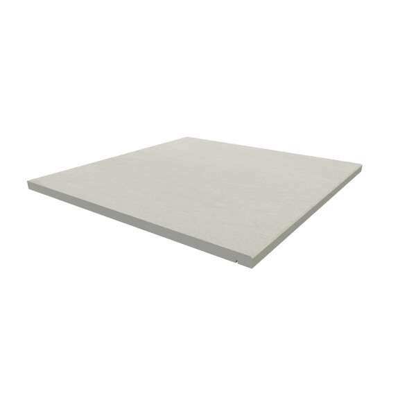 Image Displaying 600x600 Sandy White Step with a 5mm Chamfer Edge