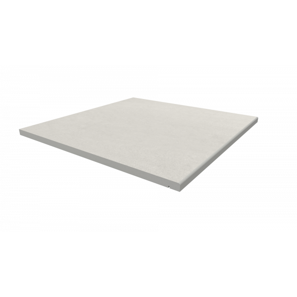 Image Displaying 600x600 Sandy White Step with a 5mm Pencil Round Edge
