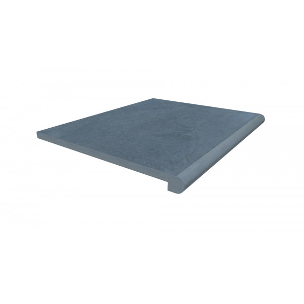 Image Displaying 600x500 Slab Coke Step with a 40mm Bullnose Edge