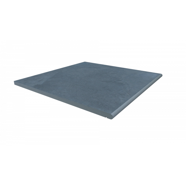 Image Displaying 600x600 Slab Coke Step with a 20mm Bullnose Edge
