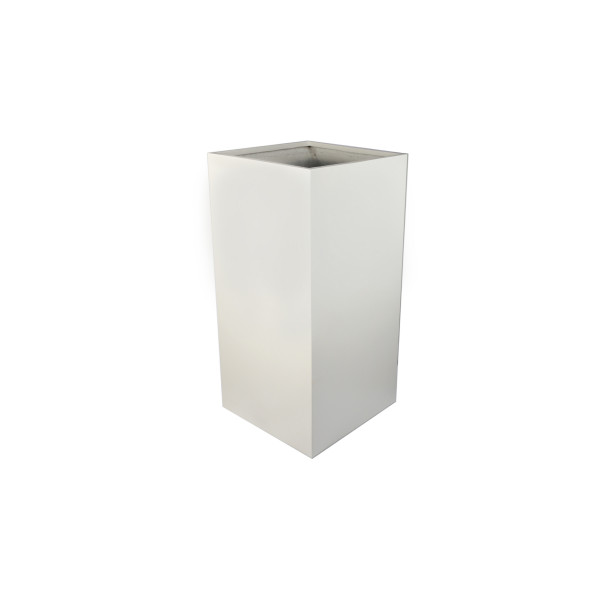Image displaying W 600 x H 1200 x D 600mm Tall Cube Planter