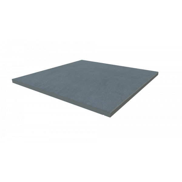Image Displaying 600x600 Trendy Black Step with a 5mm Chamfer Edge