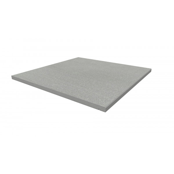 Image Displaying 600x600 Urban Grey Step with a 5mm Chamfer Edge