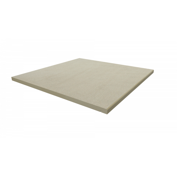Image Displaying 600x600 Warm Beige Step with a 5mm Pencil Round Edge