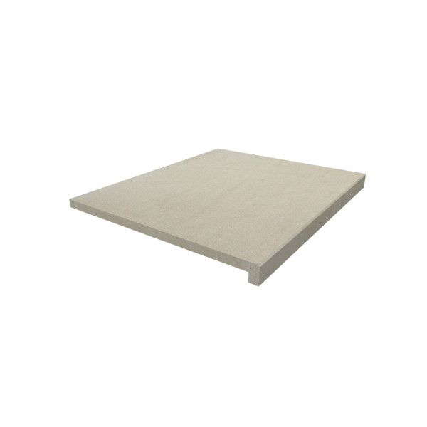 Image Displaying 600x500 Warm Beige Step with a 40mm Downstand Edge
