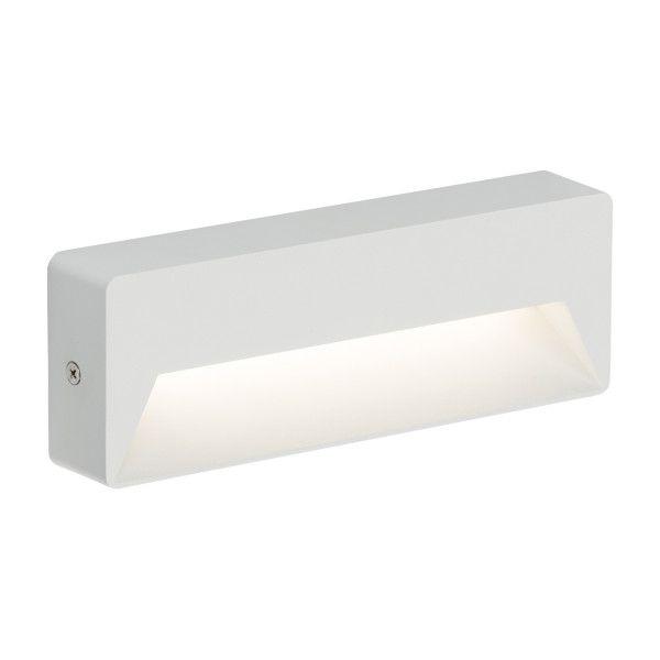White Wide Rectangle Guide Light