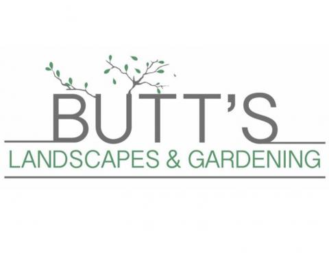 Butts Landscapes  Logo