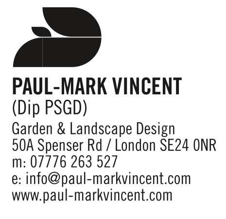 Paul-Mark Vincent Garden Design Logo
