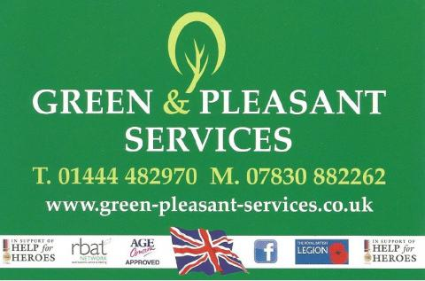 Green & Pleasant Services Logo