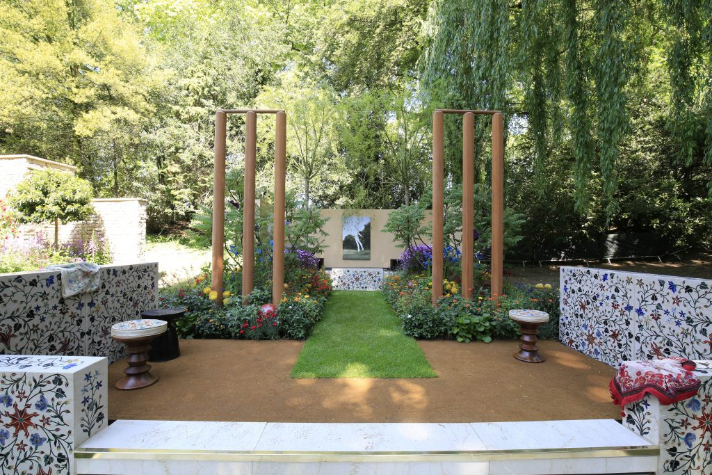 British Council India Garden by Sarah Eberle & Belderbos