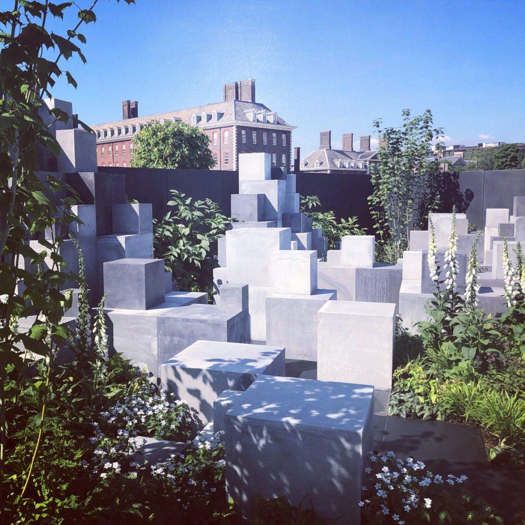 Robert Barker's Skin Deep Garden at RHS Chelsea 2018