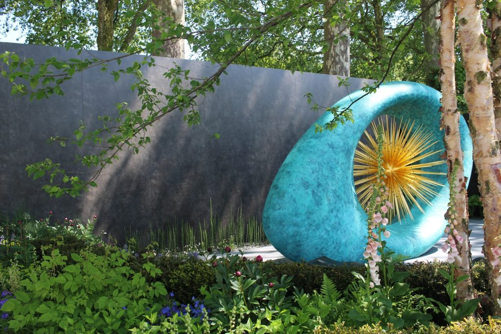 The David Harber & Savills Garden using DesignClad Vulcano Roca