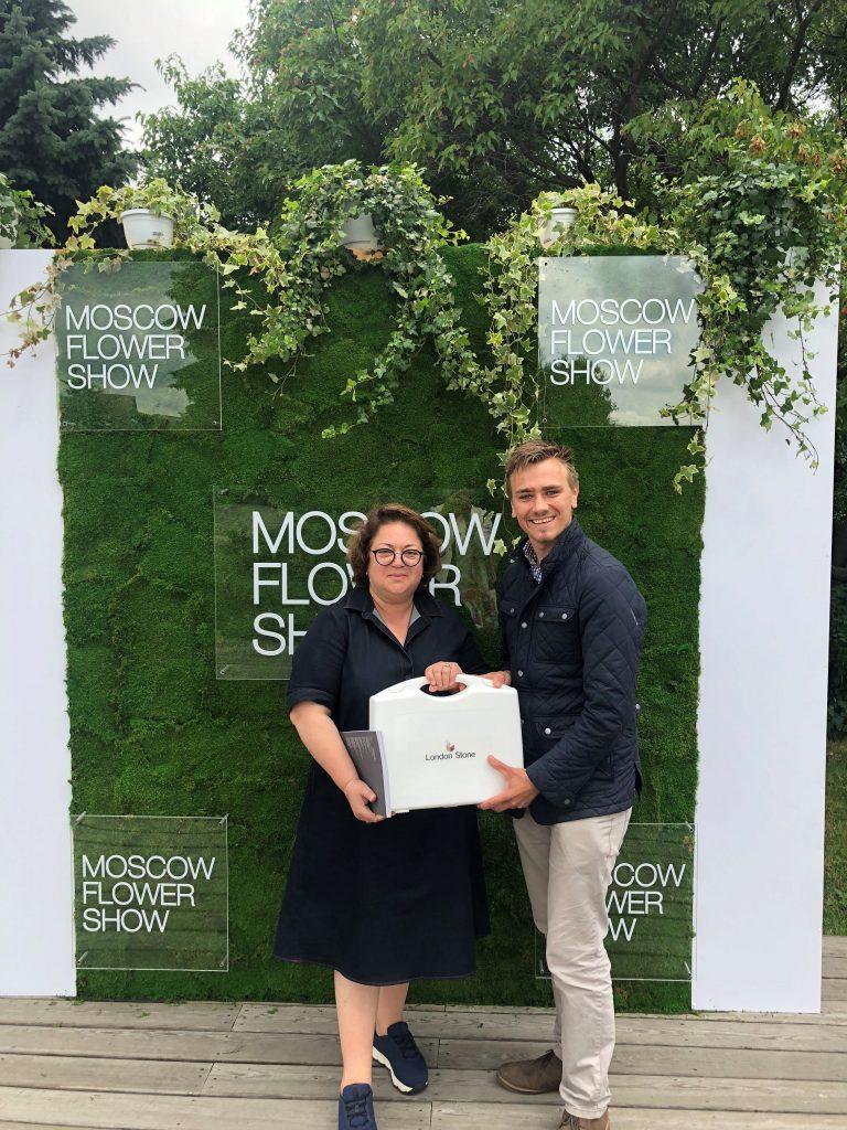 Jamie Butterworth + Karina Lazareva Moscow Flower Show