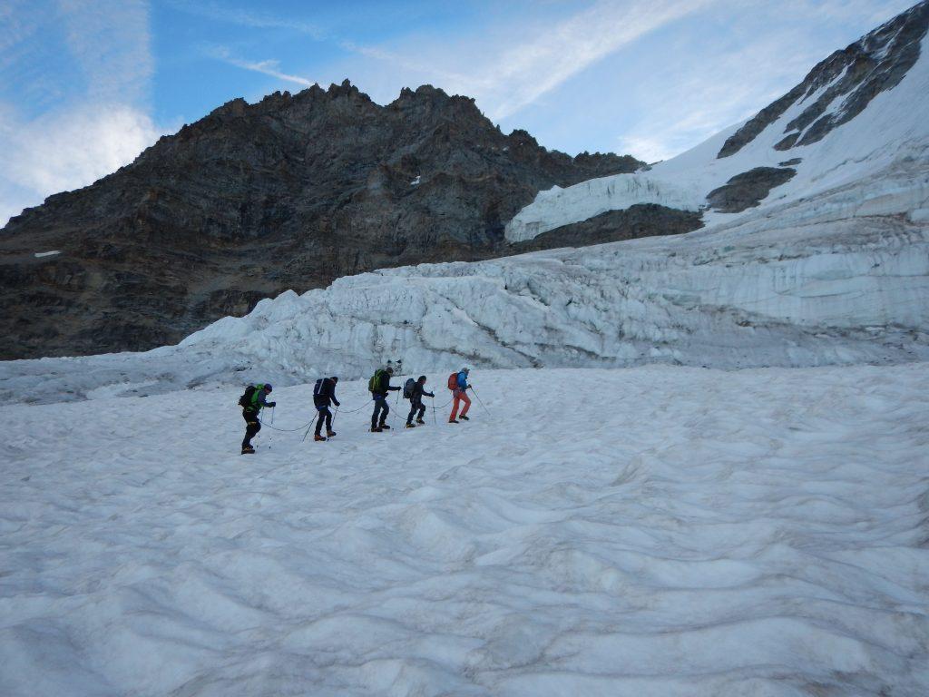 London Stone Gran Paradiso Team Felix Duchenne Climb