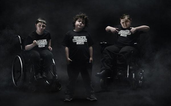 Worlds Strongest Boys Duchenne UK London Stone