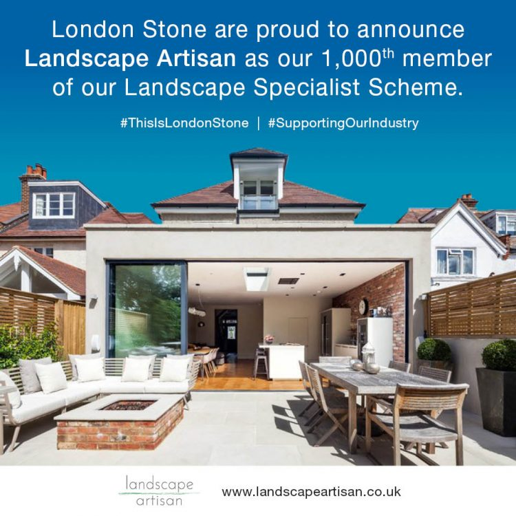 It Takes Two - Landscape Artisan Becomes Our 1000th Landscape Specialist