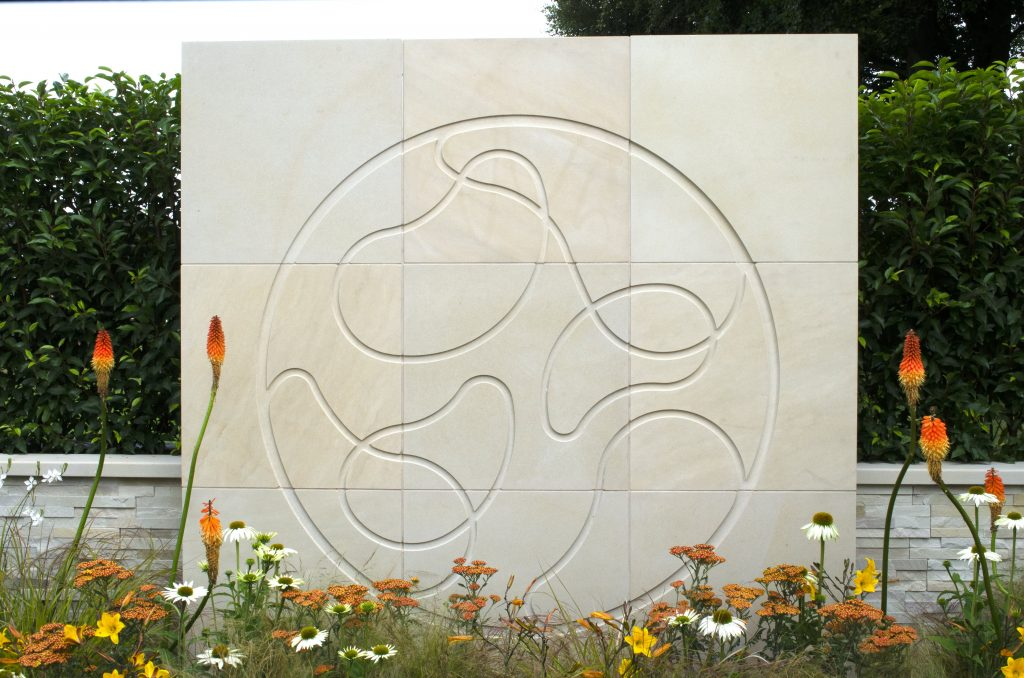 Bespoke Wall Feature Focuses Attention At RHS Tatton Park