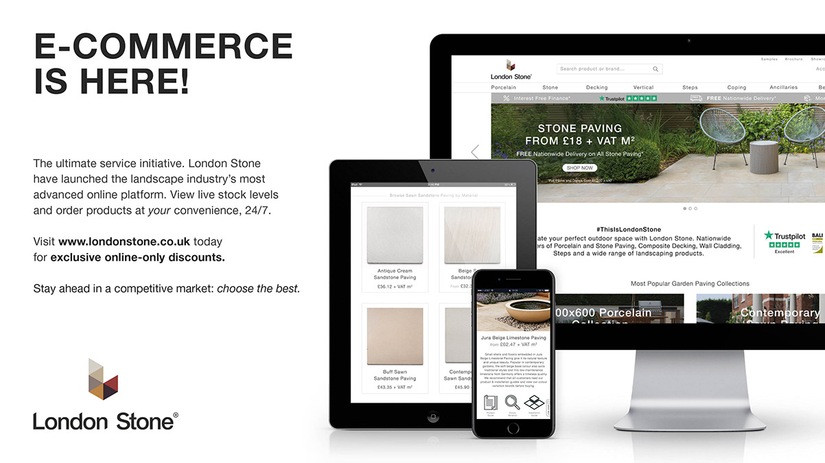 London Stone E-Commerce Is Here!