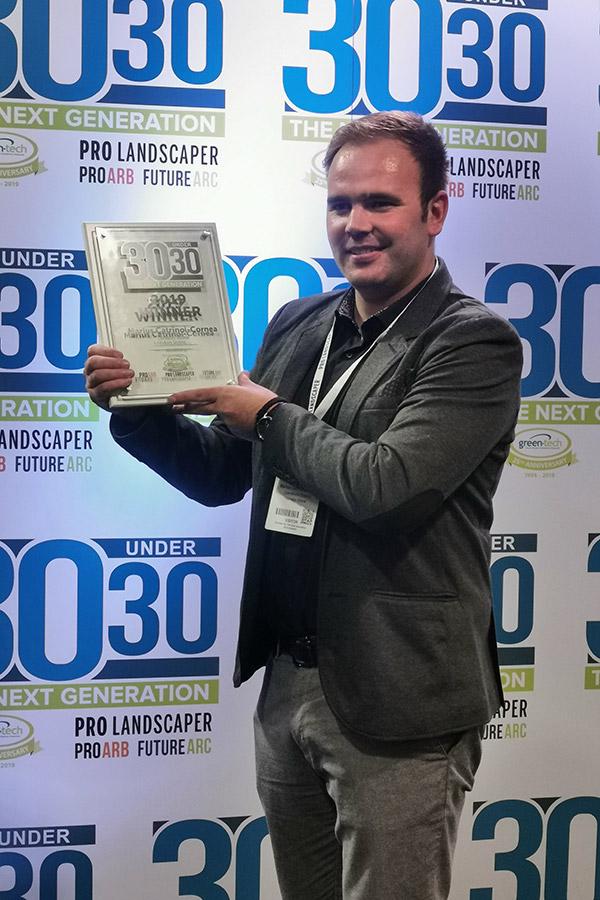 London Stone Director Wins 30 Under 30 Award 2019