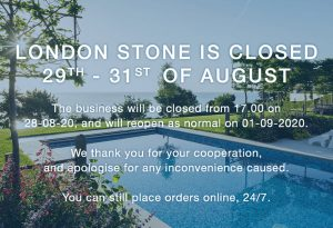 August Bank Holiday Closure