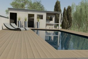Brushed and Grooved DesignBoard Composite Decking